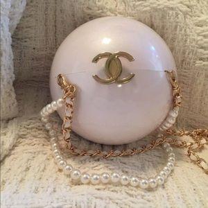Chanel VIP Pearl Shoulder bag
